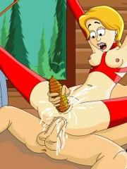 Poor tied up enslaved cutie forced to gag on a cocks before getiing her ass stretched by huge pecker.